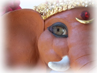 Ganesha's Innocent Eye