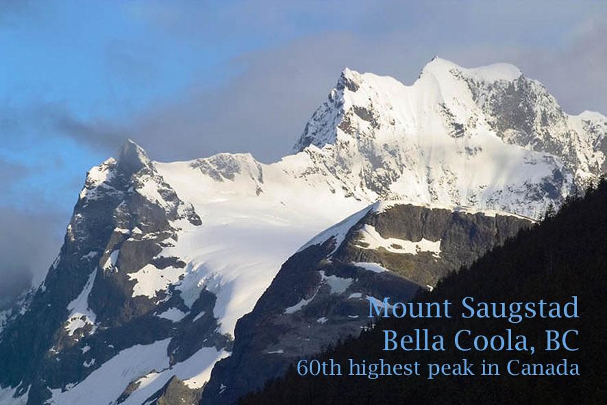 Mount Saugstad (2908 meters)