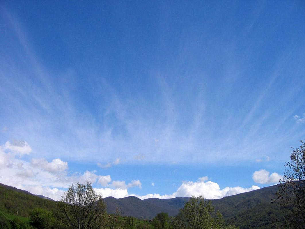 Vibrating Sky