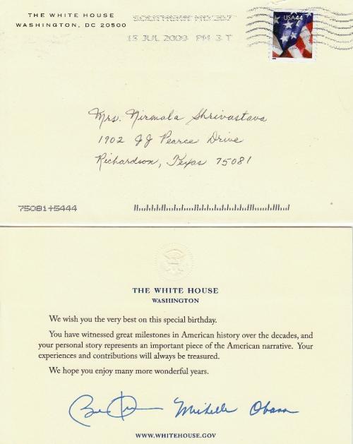 Obama's letter