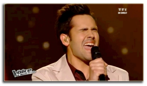 Yoann sings his hear out!