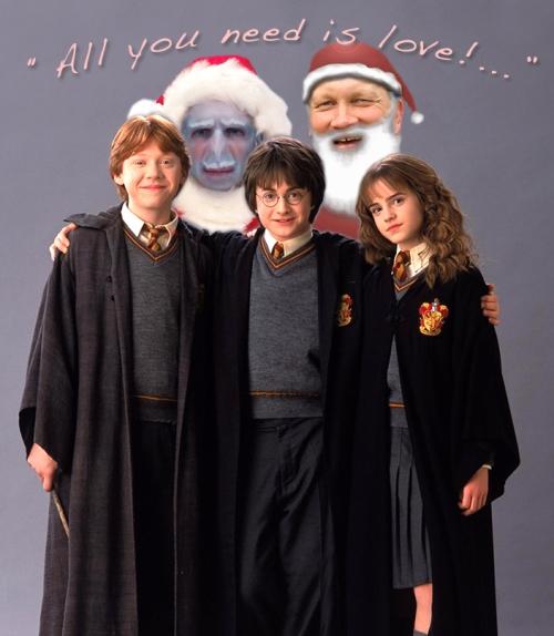 Ed-Santa HarryPotter