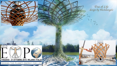 Expo2015 Tree of Life