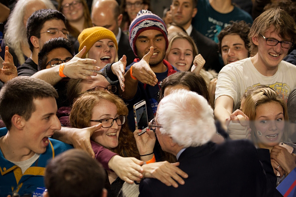 Bernie Sanders and the people -1
