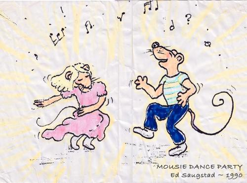Mousie Dance Party!