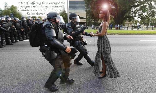 non- violence peace depth