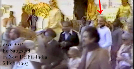 Ed found! (Delhi 1983)
